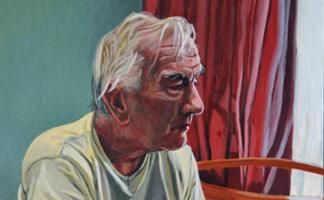 Guest teacher portrait art