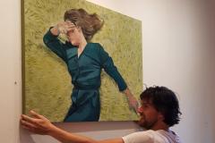 Half jaar mede-eigenaar Galerie Salon West