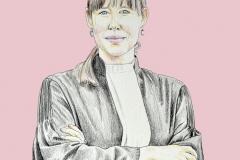 Portret illustratie
