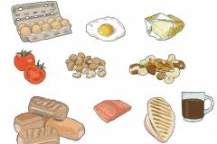 Foodscout illustraties website