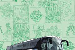 Ontwerp kaart museumplusbus